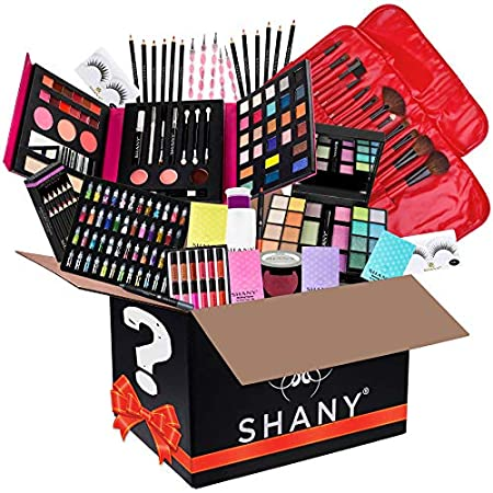 Beauty Shopping SHANY Gift Surprise – AMAZON EXCLUSIVE – All in One Makeup Bundle – Includes Pro Makeup Brush Set, Eyeshadow Palette…