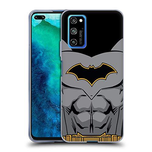 Head Case Designs Oficial Batman DC Comics Disfraz de Renacimiento Logotipos Carcasa de Gel de Silicona Compatible con Honor V30 Pro/View 30 Pro