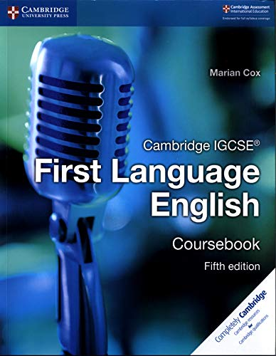 Cambridge IGCSE® First Language English Coursebook [Lingua inglese]