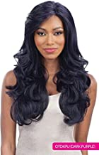 Freetress Equal Silk Base Lace Front Wig SILK NATURAL Color #1B Off Black