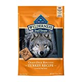 PACKED WITH REAL TURKEY: BLUE Wilderness Trail Treats start with real turkey as the first ingredient, making them a truly irresistible dog treat. CRUNCHY DOG TREATS: These dog biscuits are made with an irresistible crunch to satisfy their wild side a...