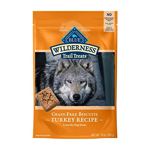 Blue Buffalo Wilderness Trail Treats Hunde-Leckerlis ohne Getreide, 10 oz, Emw8008924