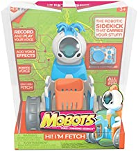 HEXBUG MoBots Fetch- Remote Control Record and Talking Robot Kit with Motor Lights and Sound - Smart Interactive Educational Toys for Kids - Ages 3+ - Batteries Included (Colors and Styles May Vary)