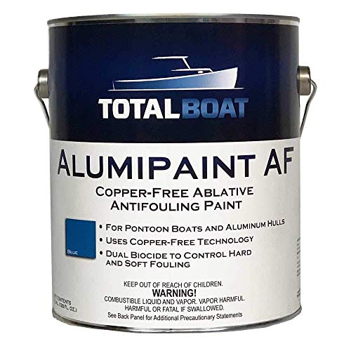 TotalBoat - 487080 Alumipaint AF Aluminum and Pontoon Boat Bottom Paint (Navy Blue, Gallon)