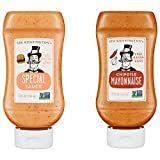Sir Kensington's 2 Piece Mayonnaise, Special Sauce and Chipotle, 12 Fl Oz (Pack of 2)