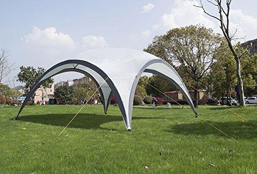 Chillroi Event Zelt Pavillon Partyzelt Fest Bier Garten 4,5x4,5m