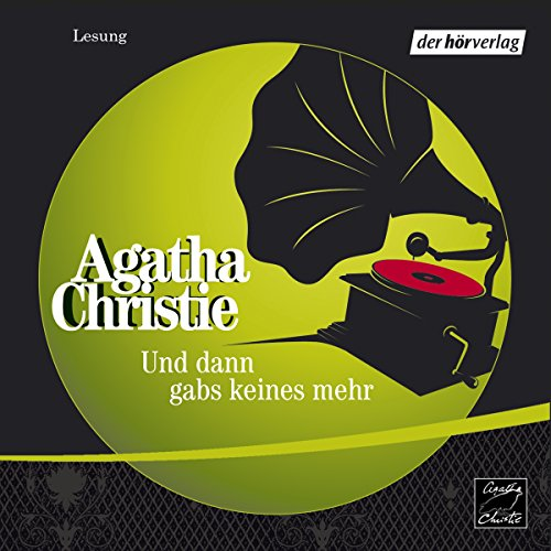 Und dann gabs keines mehr                   By:                                                                                                                                 Agatha Christie                               Narrated by:                                                                                                                                 Christian Hoening                      Length: 3 hrs and 36 mins     2 ratings     Overall 5.0