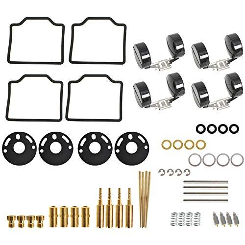 WFLNHB 4-Pack Carburetor Carb Repair Rebuild Kits Replacement for Honda CB750 1969-1974 Honda CB750K 1975 1976