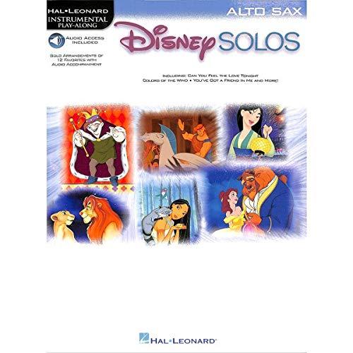 Disney Solos for Alto Sax Notes de saxophone alto
