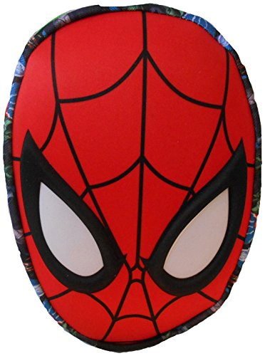 Anker Spiderman Moulded Mask Pencil Case, Assorted, 29.7x21x2 cm