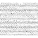 murando Fotomurales Ladrillo Piedras 400x280 cm XXL Papel pintado tejido no tejido Decoración de Pared decorativos Murales moderna Diseno Fotográfico Textura Ladrillo Blanco f-B-0308-a-a