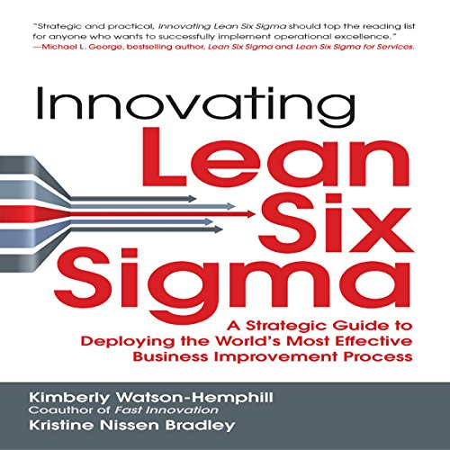 Innovating Lean Six Sigma audiobook cover art