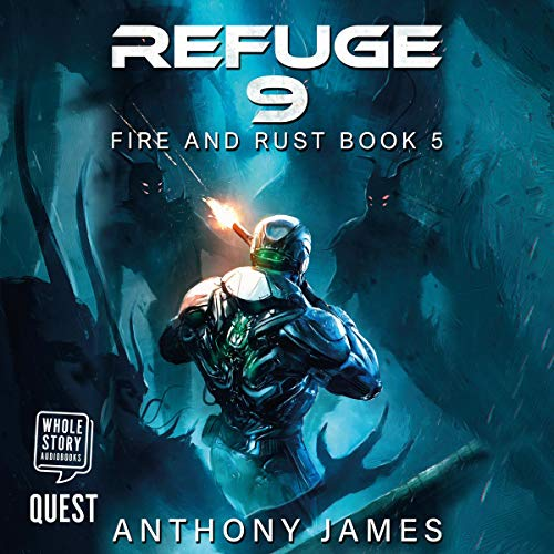 Refuge 9  By  cover art