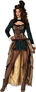 Forum Novelties Women's Madame Steampunk Costume - Multi - Standard