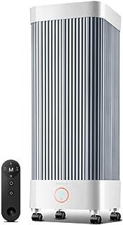 HEWYHAT Calefactor cerámico Torre con Mando a Distancia, 2000W Ventilador de Calefactor Personal, oscilante, Temporizador 7 Horas, Protección de Sobrecalentamiento y Volcado para Hogar y Oficina