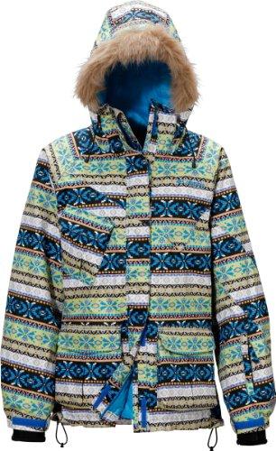 (コロンビア)Columbia Women's Segovia Jacket PL2622-F11 492 492 Compass Blue Ethnic M