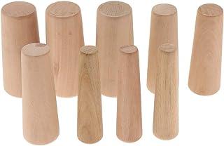 9 sztuk stożkowych zatyczek drewnianych do łodzi morskich
