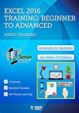 Excel 2016 Training Course by Simon Sez IT: 2 Self-Paced Software Courses For Absolute Beginners – Video Tutorials & Lectures By A Professional Instructor – Exercise Files Included