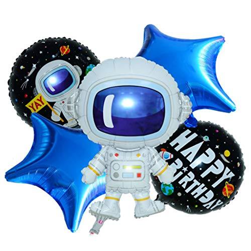 Longra Kinderverjaardagsdecoratie, interieur-zonsysteem hangdecoratie verjaardag plafondhanger spiraal slingers en Happy Birthday voor meisjes en jongens verjaardagsdecoratie