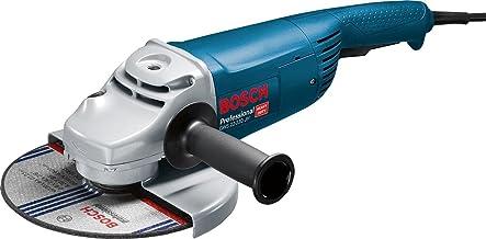 Bosch Professional 0601882M03 Smerigliatrice Angolare GWS 22-230 JH, Impugnatura Supplementare, Cuffia di Protezione, Conf...