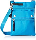 Safescan womens Scansafe Sprint Mini With Rfid Protection, Blue Crossbody Bag, Blue, One Size US