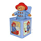 YOTTOY Paddington Bear Collection   Paddington for Baby Jack-in-The-Box Infant Plush Toy with Music