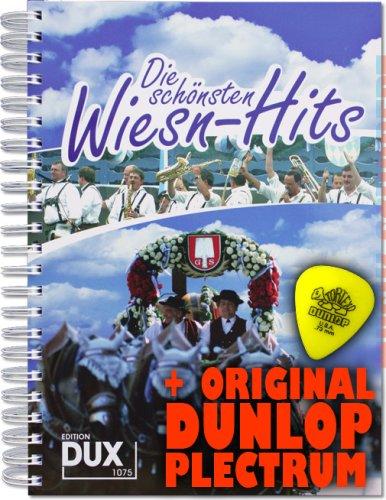 Die schönsten Wiesn-Hits im Ringeinband inkl. Plektrum - Stimmungs-Hits für Gitarre(mit Griffbildern), Keyboard und Gesang (Ringeinband) (Noten/Sheetmusic)