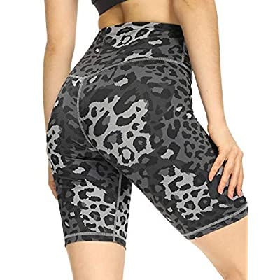 High Waisted Biker Shorts Tummy Control Yoga Workout 02032021064536