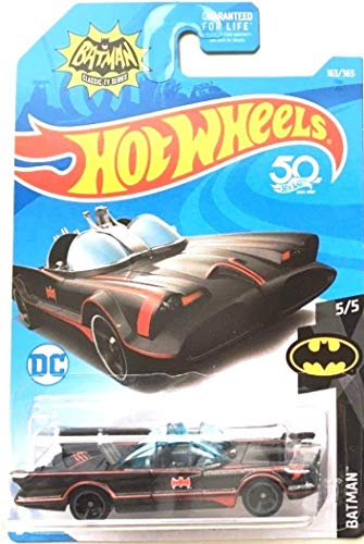 Hot Wheels 2018 50th Anniversary Batman Classic TV Series Batmobile 163/365
