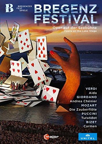 Bregenzer Festspiele (Aida/Andrea Chenier/Zauberflöte/Turandot/Carmen) [5 DVDs]