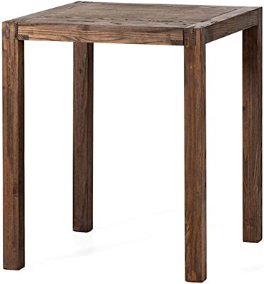 Solid Wood Square Table Dining Table and Chair Combination Coffee Shop Cake Shop Dessert Shop Table and Chairs Small Apartment Table Small Table