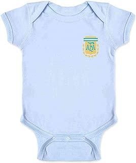 Argentina Futbol Soccer Retro National Team Sports Infant Baby Boy Girl Bodysuit