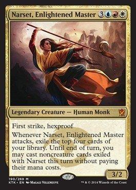 Magic The Gathering - Narset, Enlightened Master (190/269) - Khans of Tarkir