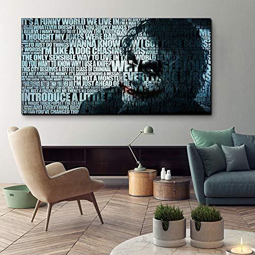 FPUYB XINQI Movie Game The Dark Knight Rises Joker And aWooden Puzzle 1000 Pezzi 75x50cm Adatto per Giochi di Famiglia, Castelli, Storia, attrazioni, Escursioni, parchi