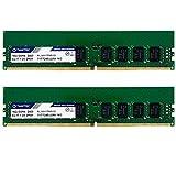 Timetec Hynix IC 32GB KIT (2x16GB) DDR4 2400MHz PC4-19200 Unbuffered ECC 1.2V CL17 2Rx8 Dual Rank 288 Pin UDIMM Server Memory RAM Module Upgrade (32GB KIT (2x16GB))