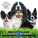 Dog Bark Collar - No Shock Humane Anti Barking Vibrating Training Collar