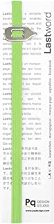 Lastword Bookmarks - Elastic Bookmark Perfect for Any Book - Book Markers for Women - Bookmarks for Men - Bookmarks for Kids - Don't Lose Your Mark, Made in Italy Book Marks (Green)