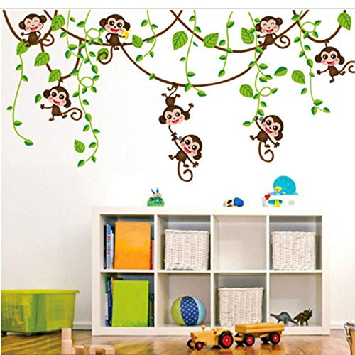 Stickers Posters Home Interior, jarrón Flower Tree Crystal Arcylic 3D Wall Stickers Decal Home Decors-80 x 40 cm