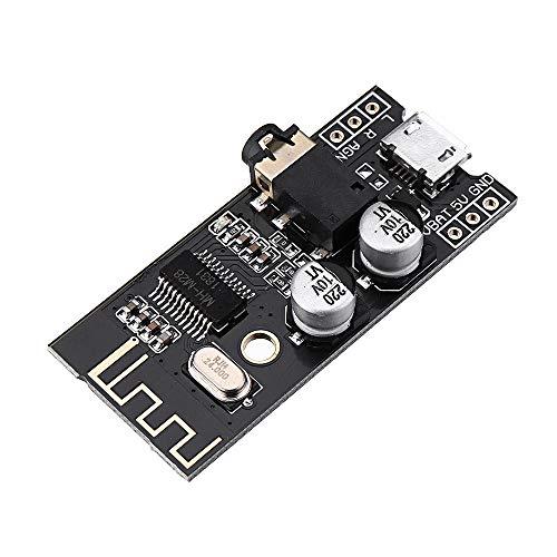 Módulo inteligente XXMK - M28 Bluetooth 4.2 Módulo receptor de audio con interfaz de audio de 3.5mm Altavoz sin pérdida de automóvil para auriculares Auriculares de AMPLIFICADOR CABETIVO REFIT