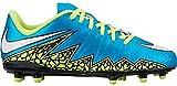 Youth Nike Jr. Hypervenom Phelon II FG (US Youth Size 1.0Y) Turquoise
