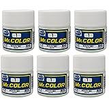 GSIクレオス Mr.カラーC1ホワイト(6本セット)