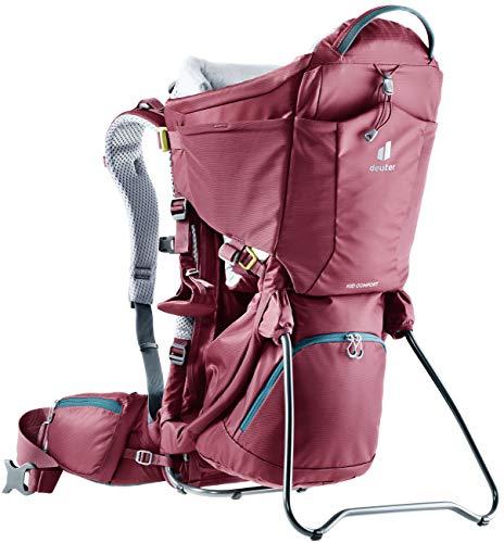 Deuter Kid Comfort Child Carrier and Backpack - Maron