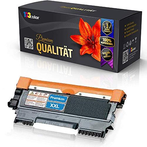 123Color kompatible XL Tonerkartusche für Brother TN 2010 TN2010 DCP 7055 DCP 7055W DCP 7057 HL2130 R HL2130R HL2132 R HL2132R HL2135W HL2140R 4.000 Seiten TN2010 TN 2010