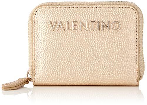Valentino by Mario Valentino dames Divina portemonnee, goud (oro), 1.8x7.5x10 cm