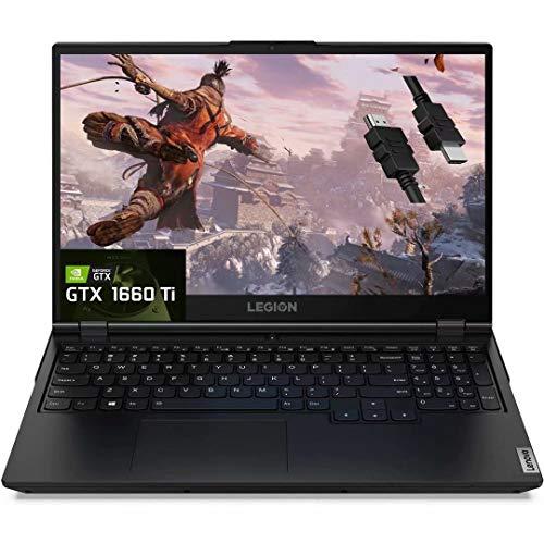 2021 Flagship Lenovo Legion 5 15 Gaming Laptop 15.6' FHD IPS 120Hz Display AMD Hexa-Core Ryzen 5 4600H(Beats i7-9750H) 16GB DDR4 1TB SSD GTX 1660 Ti 6GB Webcam Backlit WiFi Win 10 + iCarp HDMI Cable