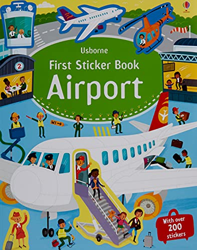 First Sticker Book: Airport (First Sticker Books series)