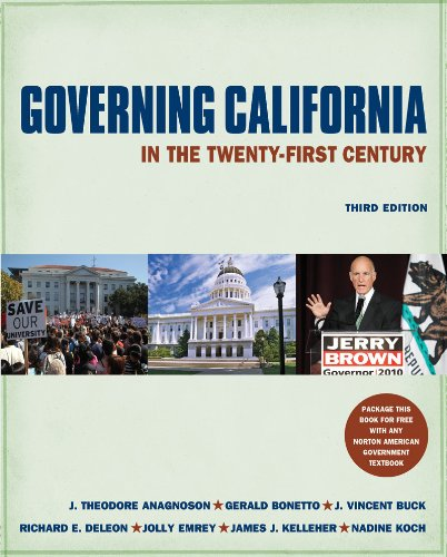 Governing California in the Twenty-First Century (Third...