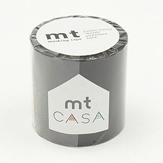 カモ井加工紙 マスキングテープ mt CASA 50mm 50mm幅×10m巻き マットブラック MTCA5085