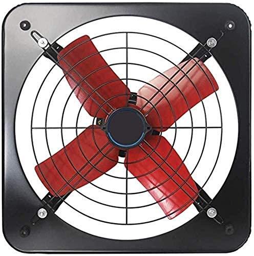 LITING Ventilador de ventilación doméstico Pared del Sótano Embedded/Industrial De Escape del Ventilador De 12 Pulgadas Potente Ventilador De Ventilación del Ventilador De Ventana