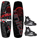 Base Sports Revolver 140 Package Wakeboard mit Wakeboardbindung red